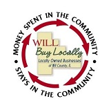 Will County: Buy Locally logo